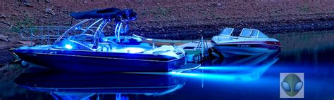 ski boat underwater lights lifeform led underwater led boat lighting led dock lights