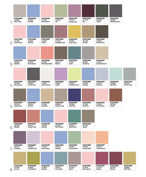 pantone color chart 2017 pantone unveils two colors of the year for 2016