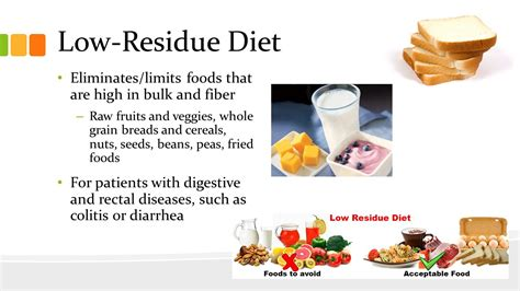 low residue food therapeutic diets chapter 11 p ppt
