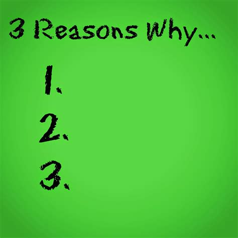 Why I Do This 6 Reasons by The Write Conversation 3 Reasons Not To Start A Writing