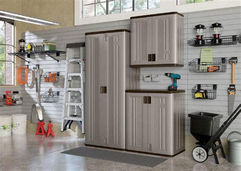 Garage Storage Systems Menards Suncast 174 Resin Storage System At Menards 174