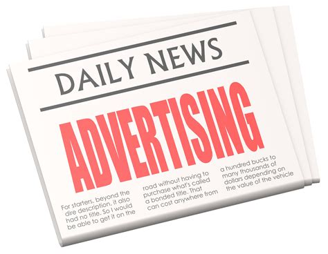 How To Make An Advertisement On Paper - newspaper advertising newhairstylesformen2014