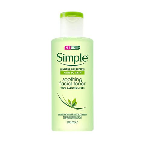 Toner Simple Soothing Toner Sensitive Skincare With Simple