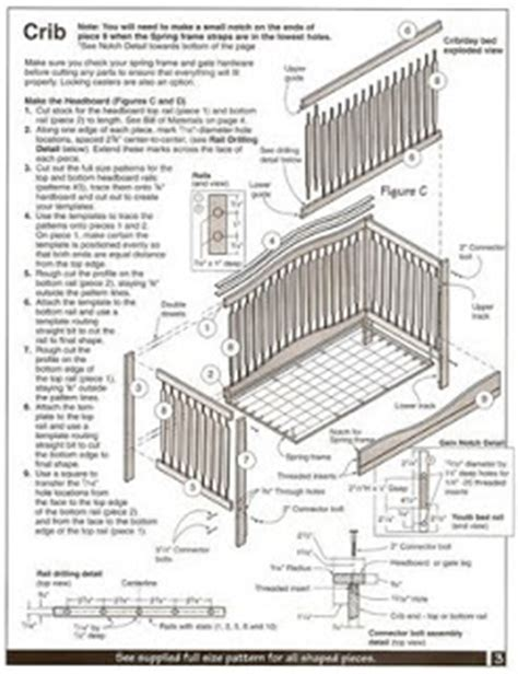 Baby Crib Building Plans free woodworking plans for baby crib discover