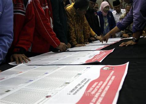 validasi logo surat suara partai politik pemilu 2014 di