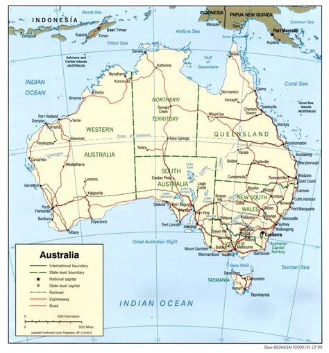 printable australian road maps australia maps printable maps of australia for download