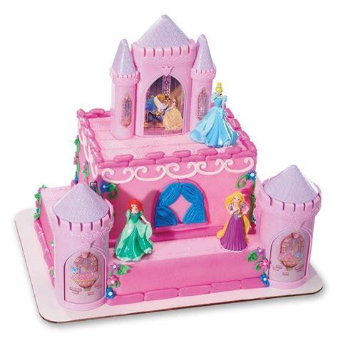 Topper Cake Topper Cupcake Disney Princess disney princess cake topper decoration castle kit cupcake