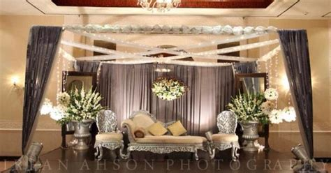 Wedding Organizer Lahore by Walima Stage Cool Colors Wedding Decor