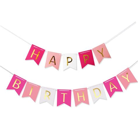 Hbd Letter Banner Big aliexpress buy colorful happy birthday banner flags letters shaped bell garland
