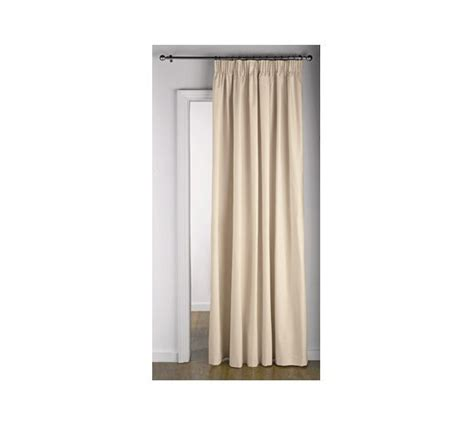 argos thermal curtains buy home thermal door curtain 168x212cm cream at argos