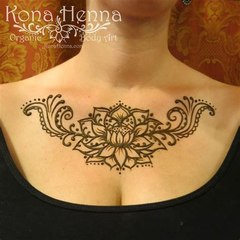 henna tattoo chest 17 best images about kona henna chest on