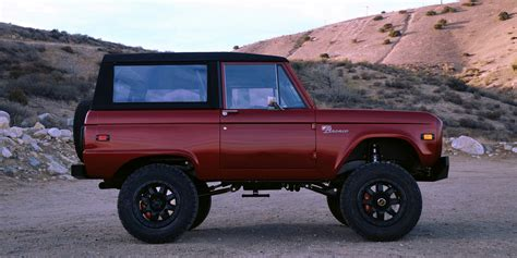 icon bronco ford bronco remade by icon ford authority