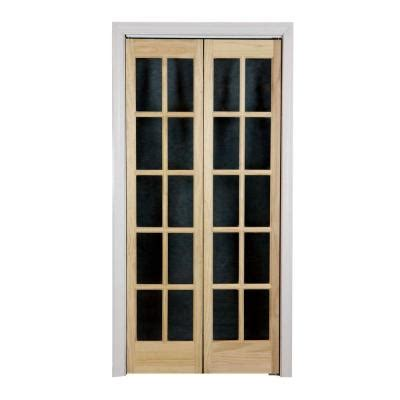 home depot glass interior doors pinecroft 36 in x 80 in classic glass wood