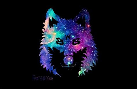 Home Design Studio Pro Update Download Quot Galaxy Wolf Silhouette Quot Studio Pouches By Frostwolf0303