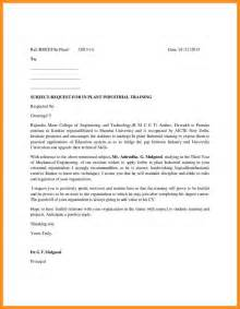 Request Letter Format College Principal Request Letter To College Principal Sle