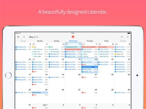 Calendars That Work With Apple Pencil 5 Awesome Apps For Pro Iphonelife