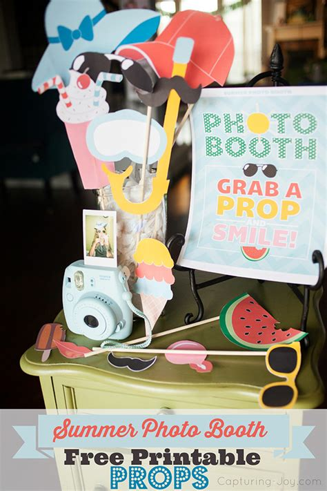 printable photo booth props summer summer photo booth props free printables share the