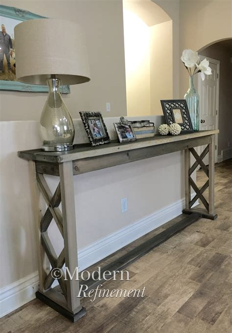 rustic farmhouse entry table rustic farmhouse entryway table