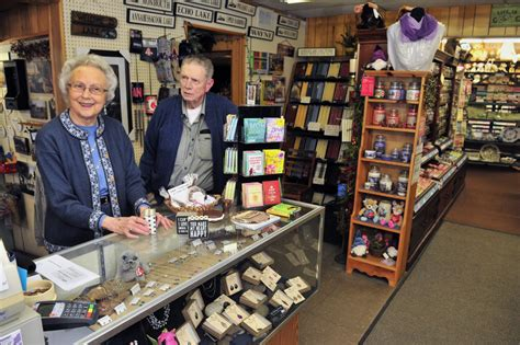 Carlton Cards Gifts - winthrop couple quietly marks 45th year running downtown card shop central maine