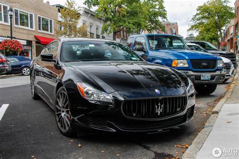 100 Gold Maserati Quattroporte Novitec Supercharges