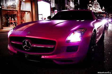light pink mercedes car mercedes pink image 439017 on favim com