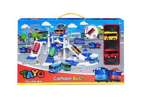 Tayo Merah Pull Back 1 toko mainan tokomainanonline