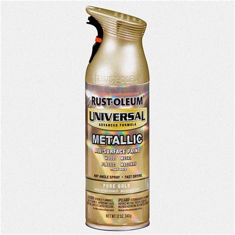 rust oleum universal 340g metallic pure gold bunnings
