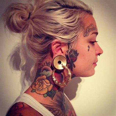 face tattoos tumblr tattoos search