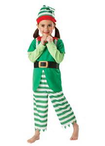 Christmas elf costume child party britain fancy dress