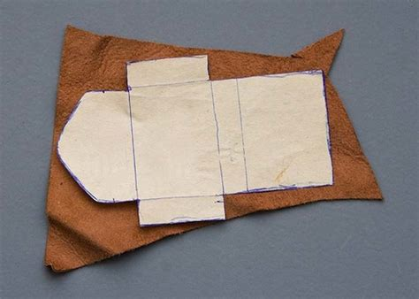 pattern making leather make a leather bag for your doll