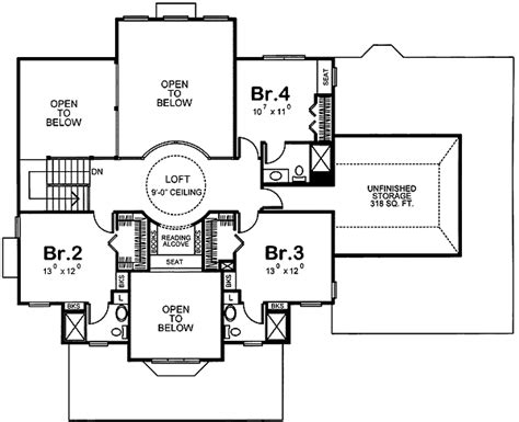 unusual floor plans unique floor plan 41583db 1st floor master suite