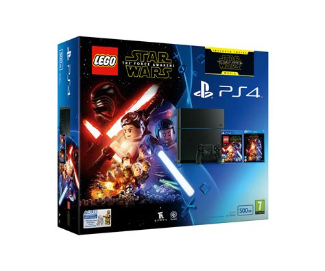 Ps4lego The Reg 1 sony playstation 4 500gb console with lego wars the awakens