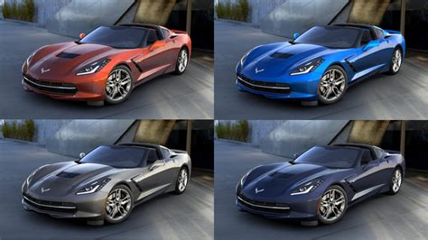 four paint colors discontinued for the 2016 corvette macmulkin corvette 2nd largest corvette