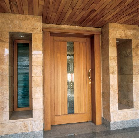 Handmade Doors - custom doors contemporary front doors ta by us