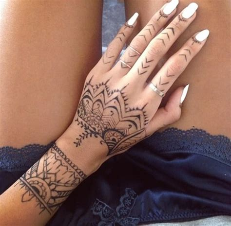 henna style tribal tattoo 99 beautiful henna ideas for to try at least once