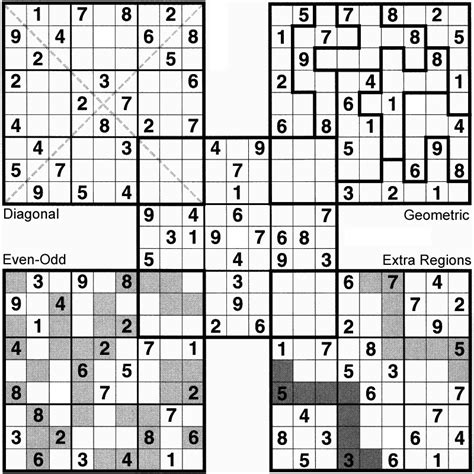 sudoku samurai para imprimir nivel difcil juego sudoku octubre 2008 centro para el desarrollo del pensamiento