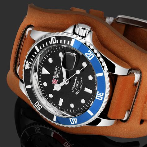 Jam Rolex Jam Tangan Pria Automatic Murah Elegan royale jam tangan analog automatic pria mr136 130 134 140 142 false brown blue