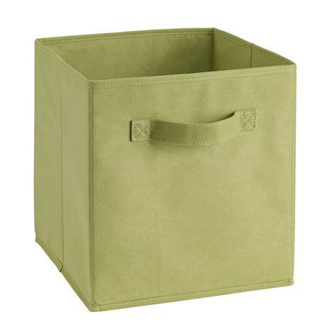 foldable cloth square storage cube basket bins organizer