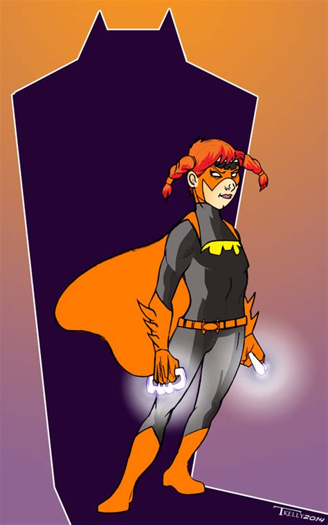 a ton of redesigns and a few new ones by sinasaur on deviantart littlebatgirl redesign by tomkellyart on deviantart