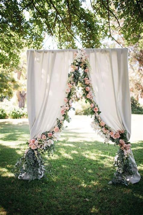 Garden Wedding Altar Ideas 60 Best Garden Wedding Arch Decoration Ideas Pink Lover