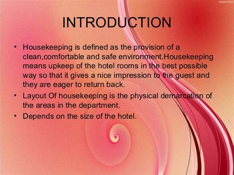 layout of housekeeping department detailed layout of housekeeping department
