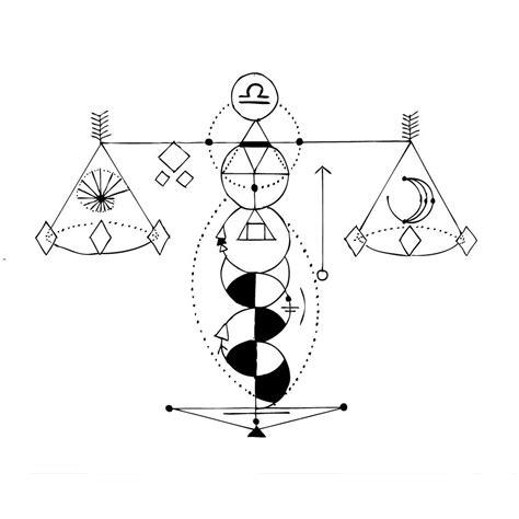 geometric zodiac tattoo geometric libra gfx tattoo idea pinterest tattoo