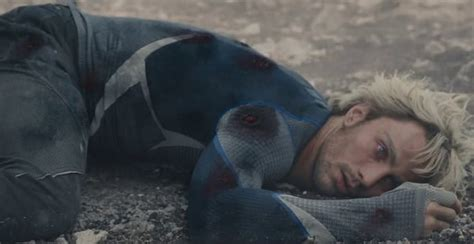 Quicksilver Movie Death | quicksilver sacrificed himself in age of ultron but why