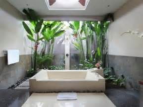 open air bathroom designs exclusive villas spa in bali indonesia asia