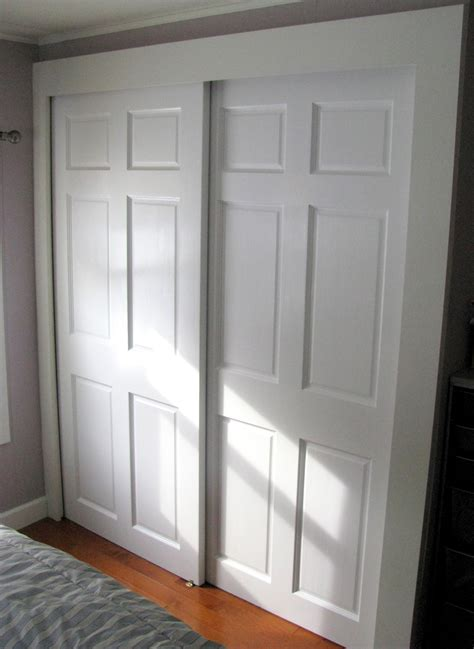 raised panel sliding closet doorsastonishing closet in the