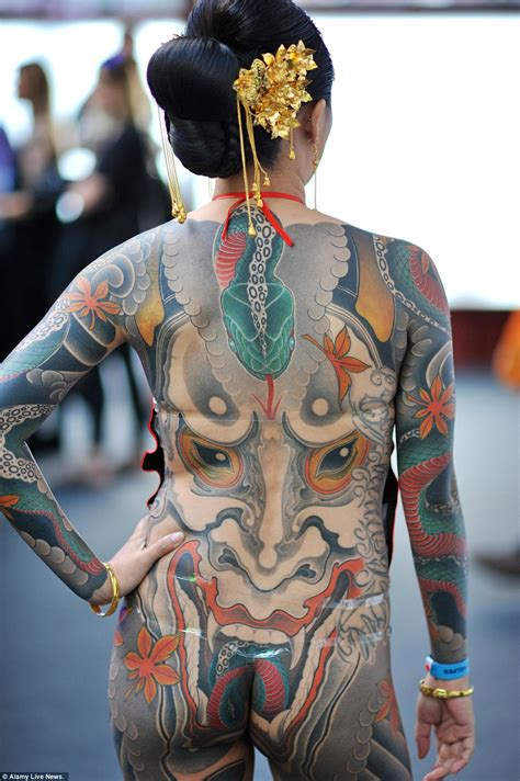 tattoo in body pics tattoo fans show off their weird and wonderful creations