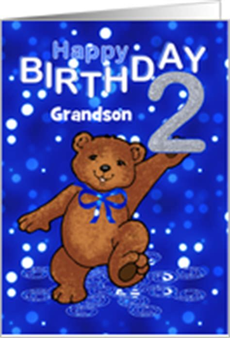 2nd Birthday Quotes For Nephew Age Specific Birthday Cards For Grandson From Greeting