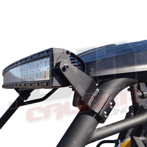 roll cage mount cl on roll cage led 40 quot light bar mount combo polaris