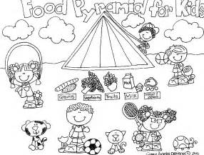 food pyramid coloring page kids coloring free kids