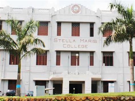 Mba Logistics Colleges In Chennai by Stella Maris College Chennai Chennai Admission Fees